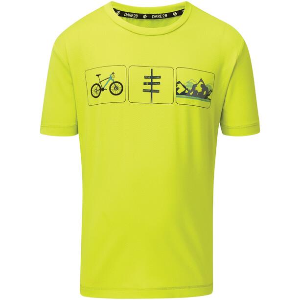 Dare 2b Rightful T-Shirt Kinder gelb