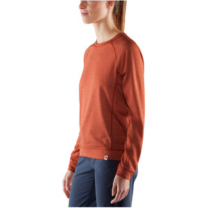 Fjällräven High Coast Lite Sweater Damen rowan red rowan red