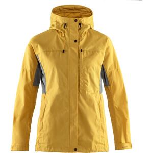 Fjällräven Kaipak Jacke Damen gelb gelb