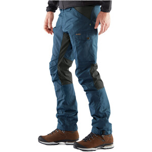 Fjällräven Kaipak Hose Herren uncle blue/dark grey uncle blue/dark grey