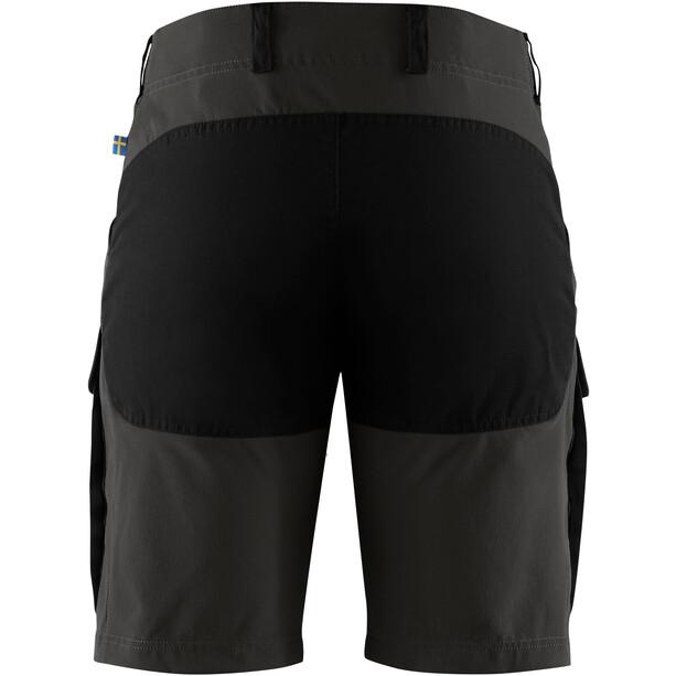 Fjällräven Keb Shorts Men, black/stone grey
