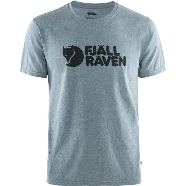 Fjällräven Logo T-Shirt Homme, bleu