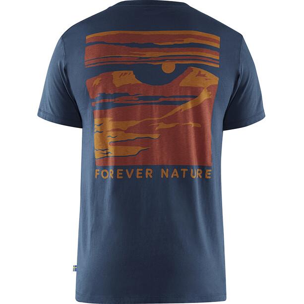 Fjällräven Torneträsk T-Shirt Herren navy