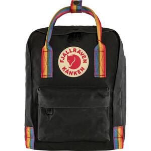 Fjällräven Kånken Rainbow Mini Rucksack Kinder black/rainbow pattern black/rainbow pattern