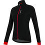 Santini Stella Windproof Jacke Damen black/red