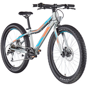"Serious Trailkid Comp 24"" Kinder silver/orange silver/orange"