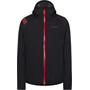 La Sportiva Run Jacke Damen black/hibiscus