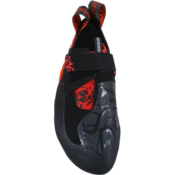 La Sportiva Skwama Kletterschuhe Herren black/poppy