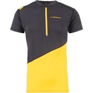 La Sportiva Limitless Camiseta Hombre, negro/amarillo negro/amarillo