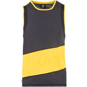 La Sportiva Track Tank Top Herren schwarz/gelb schwarz/gelb
