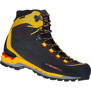 La Sportiva Trango Tech Leather GTX Schuhe Herren black/yellow black/yellow