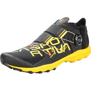 La Sportiva VK Boa Zapatillas Running Hombre, negro/amarillo negro/amarillo