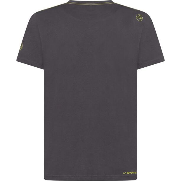 La Sportiva Square Evo T-Shirt Herren carbon