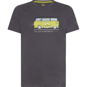 La Sportiva Van T-Shirt Herren carbon/kiwi carbon/kiwi