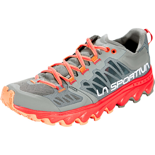 La Sportiva Helios III Chaussures de trail Femme, clay/hibiscus