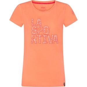 La Sportiva Pattern T-Shirt Damen flamingo flamingo