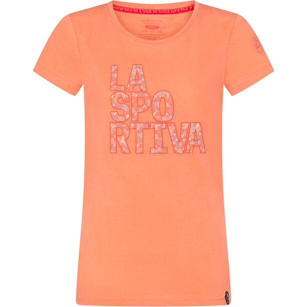 La Sportiva Pattern T-Shirt Damen flamingo