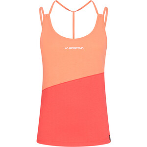 La Sportiva Think Tank Top Damen flamingo/hibiscus flamingo/hibiscus