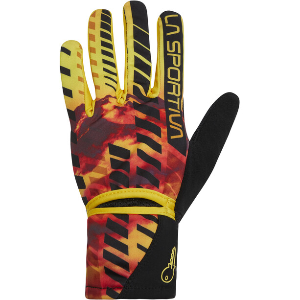 La Sportiva Trail Handschuhe Herren gelb/schwarz