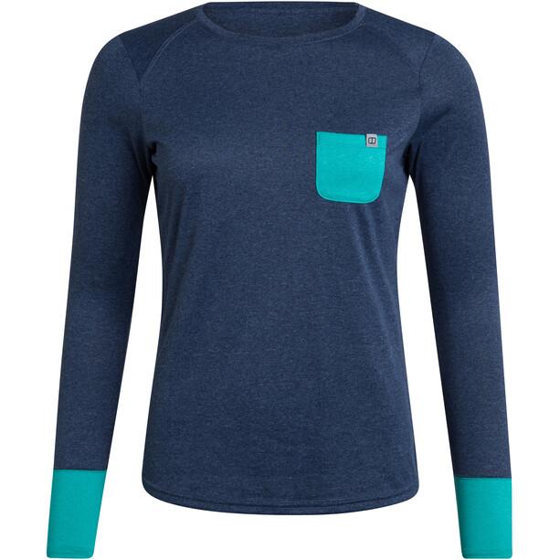 Berghaus Explrr Tech Tee LS Crew Shirt Women, sininen
