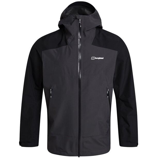 Berghaus Paclite Peak Vented Shell Jacket Men, harmaa