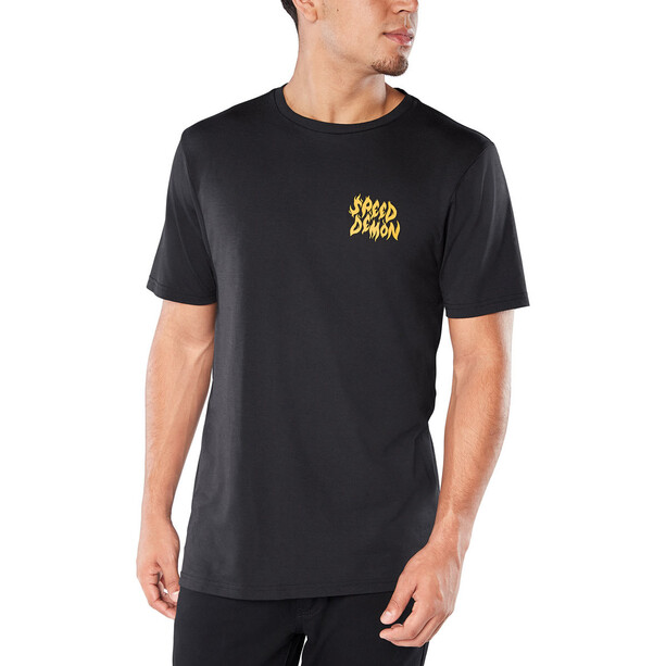 Dakine Speed Demon Kurzarm Tech T-Shirt Herren black