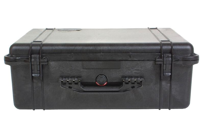 1600 mit Schaumeinsatz schwarz 2018 Plastikboxen