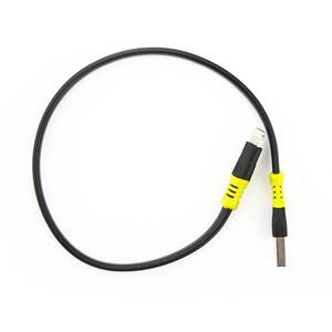 "Goal Zero USB to Lightning Cable 10"" black black"