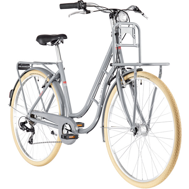Ortler Detroit EQ Alloy Cargo 6-speed Women dolphin grey