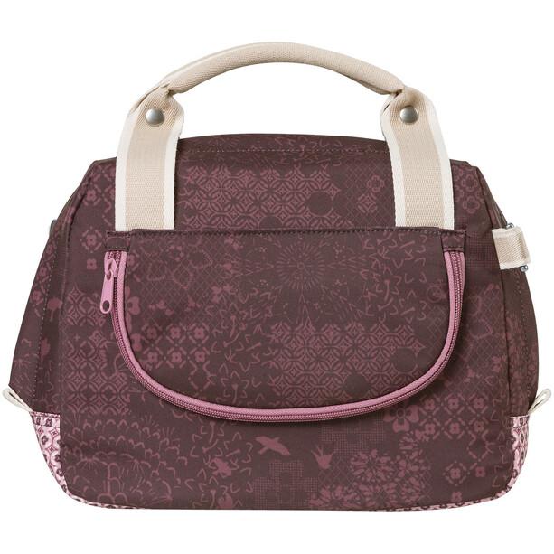 Basil Bohème City Handlebar Bag 8l fig red