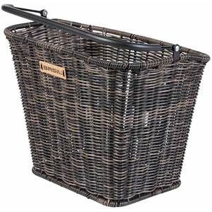 Basil Bremen Rattan Look Lenkerkorb mit Klickfix nature brown nature brown