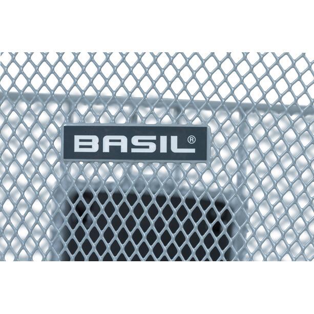Basil Bremen KF Lenkerkorb silver