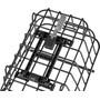 Basil Cento Alu Rear Wheel Basket with MIK System, sort