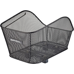 Basil Icon Rear Basket S, noir noir