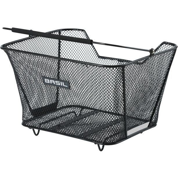 Basil Lesto Rear Wheel Basket, black