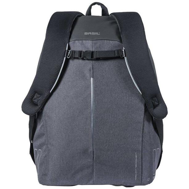 Basil B-Safe Nordlicht Commuter Rucksack 18l Herren graphite black