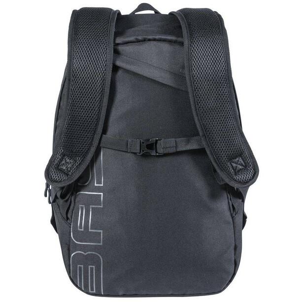 Basil Flex Bicycle Backpack 17l, noir