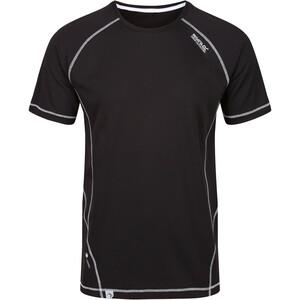 Regatta Virda II T-Shirt Herren schwarz schwarz
