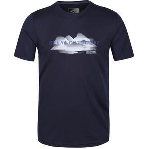 Regatta Fingal V T-Shirt Homme, bleu bleu