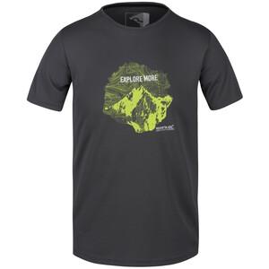 Regatta Fingal V T-Shirt Homme, gris gris