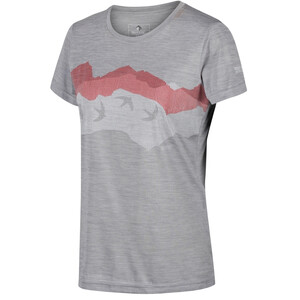 Regatta Fingal V Camiseta Mujer, gris gris