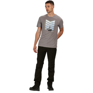 Regatta Breezed T-Shirt Herren rock grey rock grey