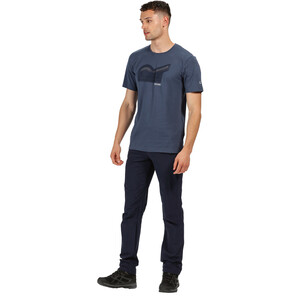 Regatta Breezed T-Shirt Herren dark denim dark denim
