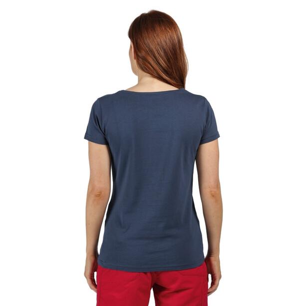 Regatta Breezed T-Shirt Damen blau
