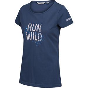 Regatta Breezed T-Shirt Damen blau blau
