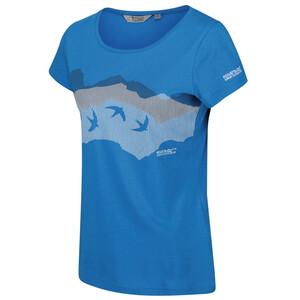 Regatta Breezed T-Shirt Femme, bleu bleu