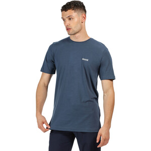 Regatta Tait T-Shirt Herren dark denim dark denim