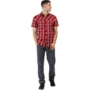 Regatta Honshu V T-Shirt Herren delhi red check delhi red check