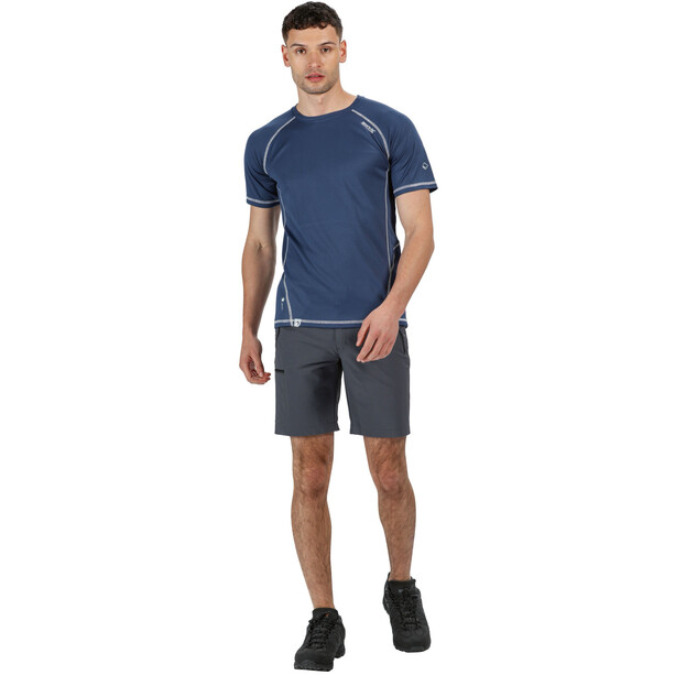 Regatta Xert III Stretch Shorts Herren seal grey