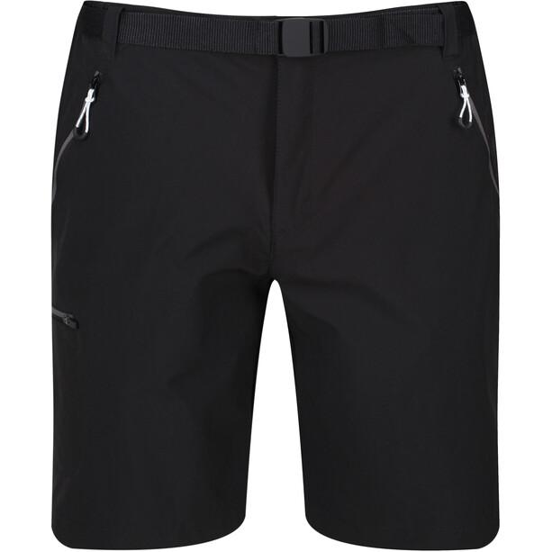 Regatta Xert III Stretch Shorts Men, musta